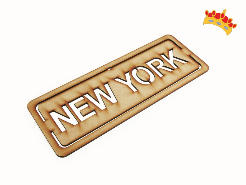 "Cartel Calado ""New York"""