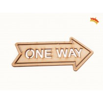 "Cartel Calado ""One Way"""