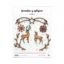 ENVIO FLASH | Formitas decorativas 035